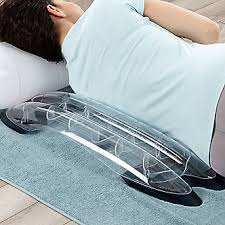 SpineDok Back Stretcher With Risers For Added Height