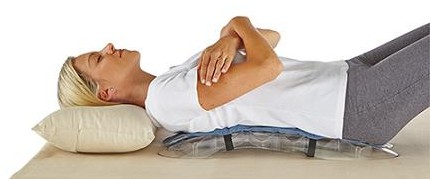 SpineDok Back Stretcher Eases Tension, Relieve Back Pain